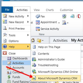 About Microsoft Dynamics CRM